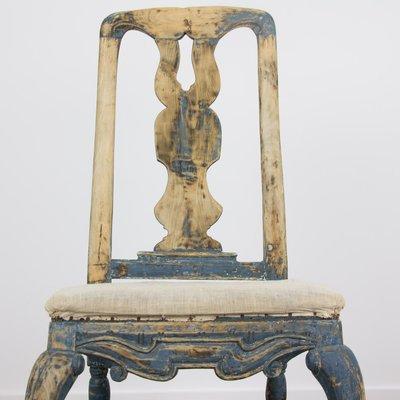 Etonnant 18th Century Swedish Rococo Chairs, Set Of 2