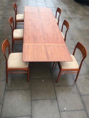 Table De Salle à Manger à Rallonge Par Johannes Andersen Pour Uldum  Møbelfabrik, 1960s 2