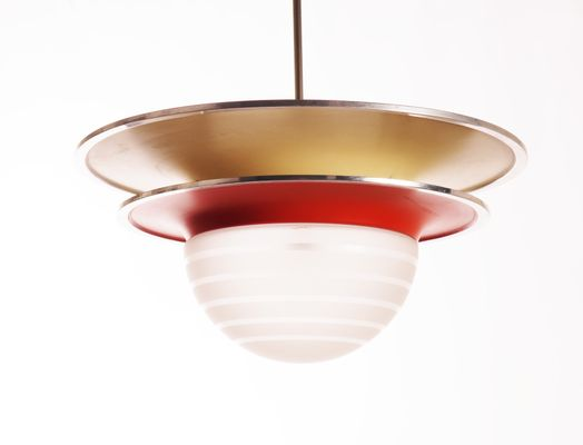 Lampada da soffitto vintage di böhlmarks in vendita su pamono