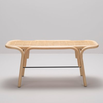 Stupendous Traverse Rattan Bench By Ac Al Studio For Orchid Edition Short Links Chair Design For Home Short Linksinfo