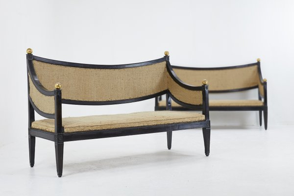 18th Century Italian Sofas Set Of 2