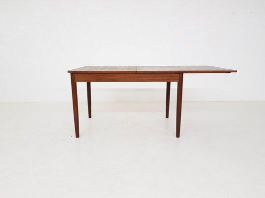 Rallonge Salle En Table De Teck À Manger Extensible1950s Avec rCBoWdxe