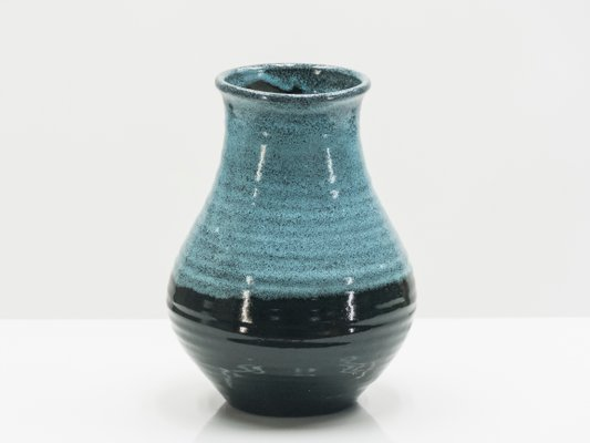 Bicolor Ceramic Vase From Accolay 1960s For Sale At Pamono