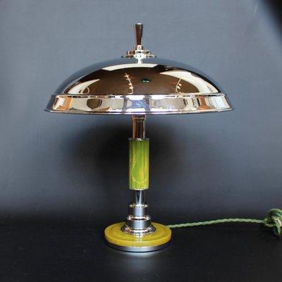 Art Deco Lampe mit kuppelförmigem Schirm, 1930er
