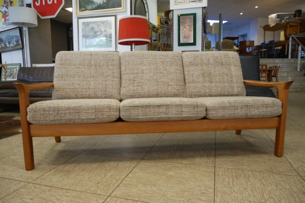 Teak Living Room Set By Juul Kristensen For Glostrup 1970s 1