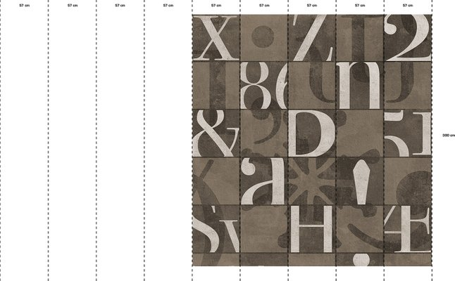 Alphabetum Tapete Von Wall81 2019 Bei Pamono Kaufen