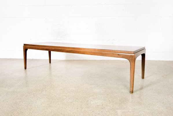 Mid Century Walnut Coffee Table From Lane