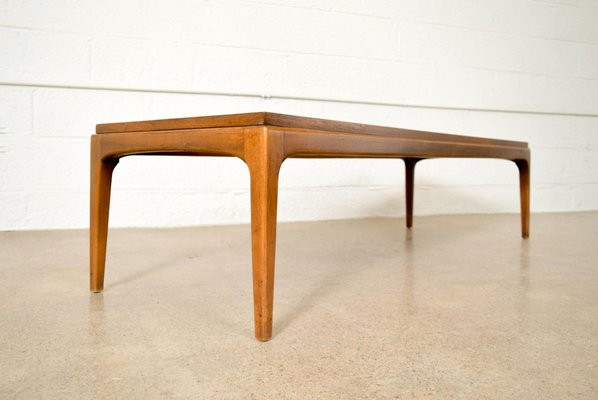 Mid Century Walnut Coffee Table From Lane For Sale At Pamono