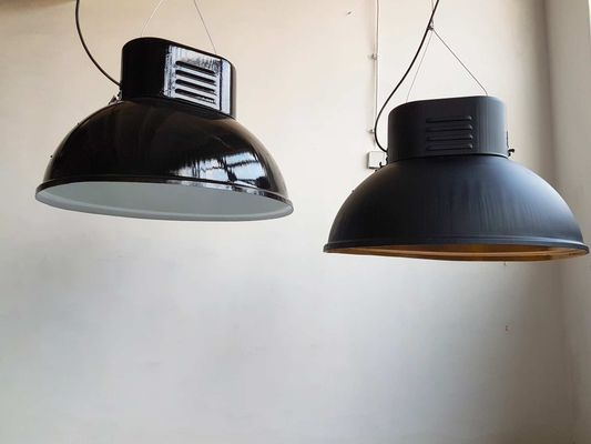 Vintage Factory Lamp From