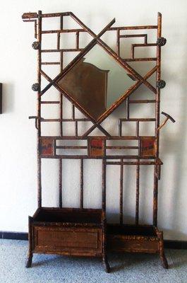 Meuble D Entree Chippendale 19eme Siecle En Imitation Bambou