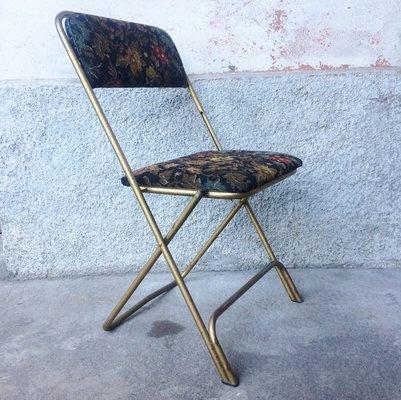Chaise Pliante Vintage De Lafuma 1960s 1