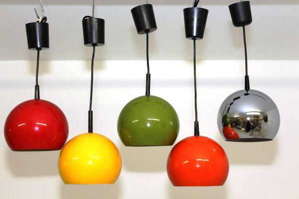 Moderne Lampen 9 : Mid century pendant lamp from brillant leuchten 1960s for sale at