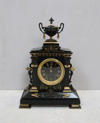 Antique Mantel Clocks >> Antique French Neoclassical Mantel Clock By Japy Freres For Sale At