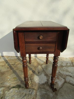 French Drop Leaf Side Table 1880s For Sale At Pamono