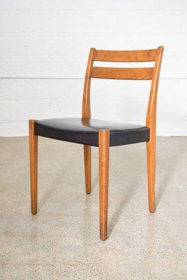 Mid Century Teak Dining Chairs By Svegards Markaryd, Set Of 4 1