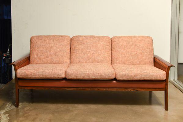 Mid Century Scandinavian 3 Seater Sofa