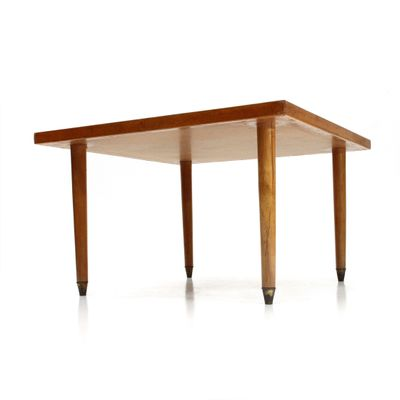 Mid Century Italian Square Coffee Table 1940s For Sale At Pamono