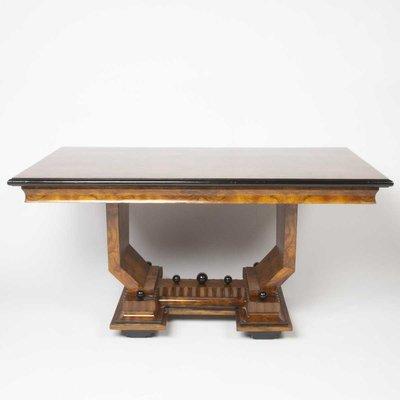 Tavoli Da Pranzo In Stile.Tavolo Da Pranzo In Stile Art Deco Anni 40 In Vendita Su Pamono