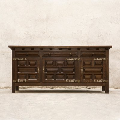 Groovy Vintage Spanish Sideboard Buffet Home Interior And Landscaping Transignezvosmurscom