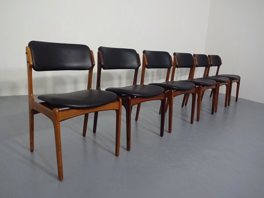 Exceptionnel Model 49 Rosewood Chairs By Erik Buch For Oddense Maskinsnedkeri, 1960s,  Set Of 6