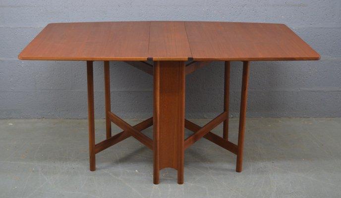 Mesa de comedor abatible Mid-Century de McIntosh en venta en Pamono