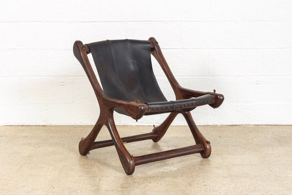 Mid Century Mexican Sling Chair By Don Shoemaker For Señal, S.A., 1960s