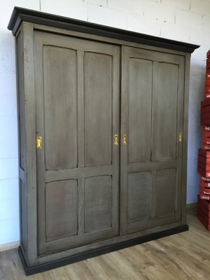 Armoire With Sliding Doors 1930s