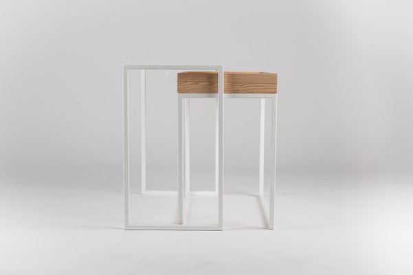 White Ambrogio Coffee Table By Paula Studio For Formae For Sale At Pamono