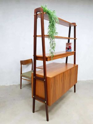 Swedish Room Divider Or Shelving Unit 1950s