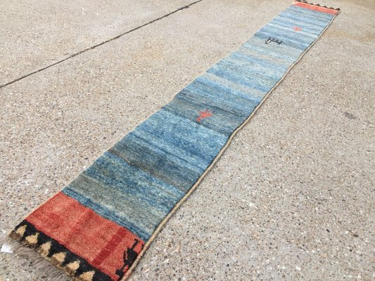 Vintage Handmade Runner Carpet 1