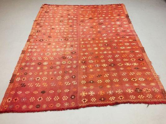 Vintage Turkish Kilim Rug For At