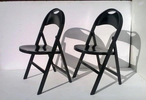Design Achille Castiglioni.Tric Chairs By Achille Castiglioni For Bernini 1965 Set Of 6