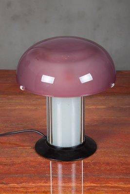 Awe Inspiring Vintage Italian Glass Table Lamp Home Remodeling Inspirations Basidirectenergyitoicom