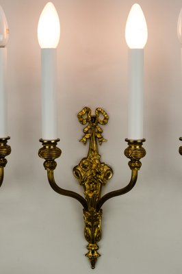 Antique Wall Lamps 1890s Set Of 3