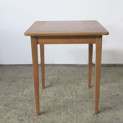 Art Nouveau Wooden Side Table, 1900s