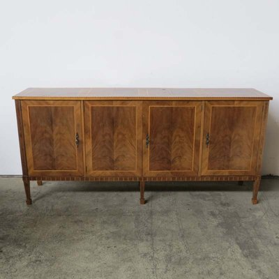 Vintage Inlaid Wood Sideboard 1950s For Sale At Pamono