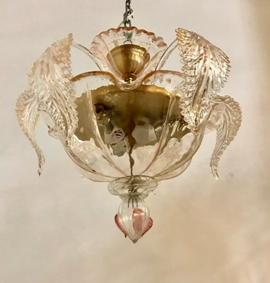 Vintage Deckenlampe aus Muranoglas von La Murrina