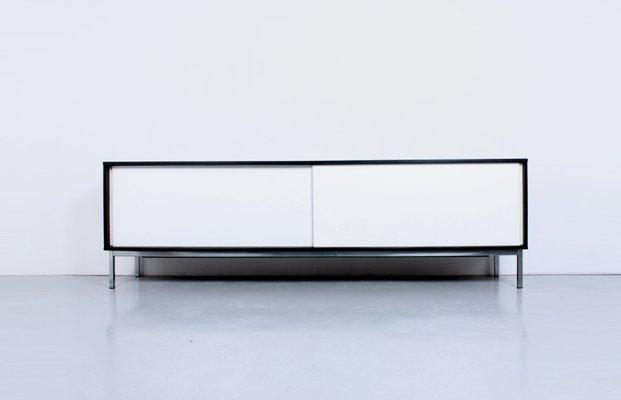 Grosses Modernes Kw 85 Sideboard In Schwarz Weiss Von Martin Visser
