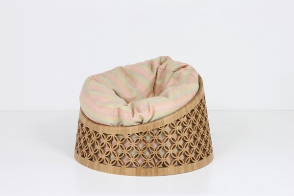 Fabulous Arabesque Bean Bag Chair By Nada Debs The Exceptional Lamtechconsult Wood Chair Design Ideas Lamtechconsultcom