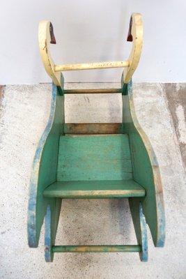 Strange Antique Biedermeier Swan Rocking Chair Ncnpc Chair Design For Home Ncnpcorg