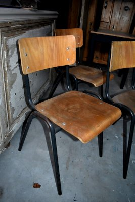 Sedie Metallo E Legno.Sedia Vintage In Metallo E Legno Italia Anni 60 In Vendita Su Pamono