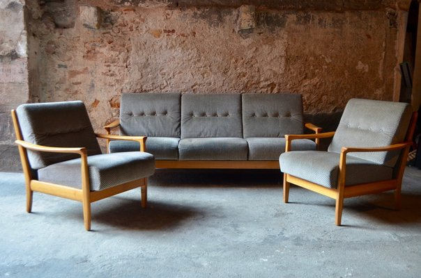 Mid-Century Living Room Set from Walter Knoll for sale at Pamono