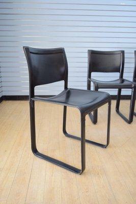 Matteo Grassi Mobili.Sedie Da Pranzo Sistina Di Tito Agnoli Per Matteo Grassi Anni 80 Set Di 3