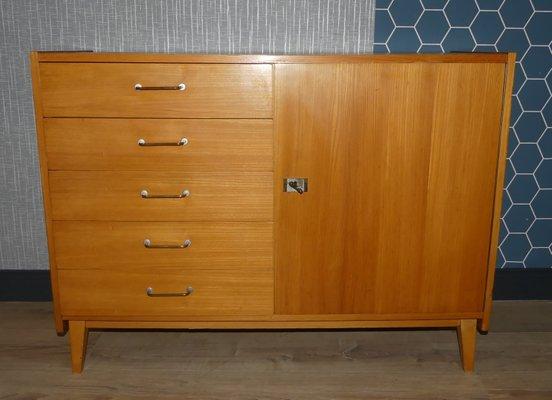 Exceptionnel Vintage German Linen Cabinet, 1960s 1