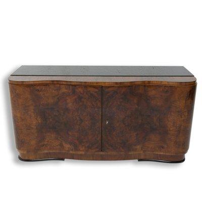 Art Deco Walnut Sideboard Or Buffet 1930s 1