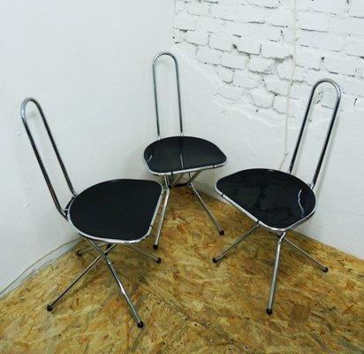 Sedie Pieghevoli Economiche Ikea.Sedie Pieghevoli Di Niels Gammelgaard Per Ikea Anni 70 Set Di 3