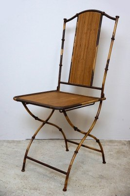 Incredible Antique Art Nouveau Bamboo Garden Chairs Set Of 2 Ncnpc Chair Design For Home Ncnpcorg