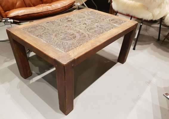 Vintage Coffee Table By Roger Ca 1950s