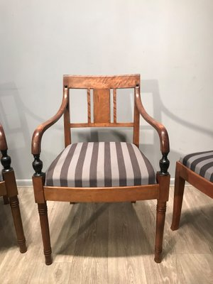 Antique Dining Chairs, 1900s, Set Of 6