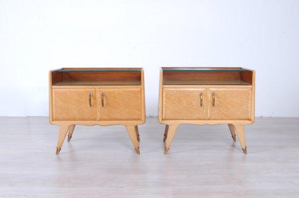 Mobili Anni 50 : Comodini di la permanente mobili cantù italia anni 50 set di 2
